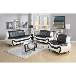 Elzada 3 Piece Living Room Set