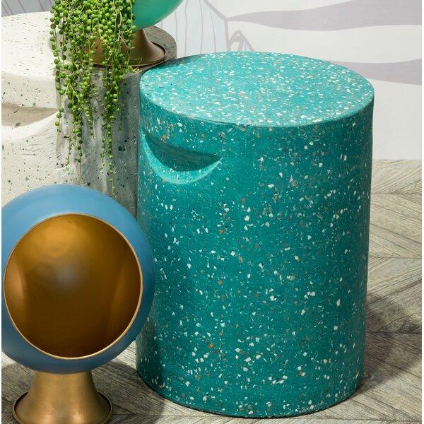 Aurora Terrazzo Garden Stool by Ebern Designs