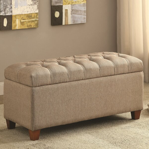 Saylors Upholstered Storage Bench By Red Barrel Studio Wonderful