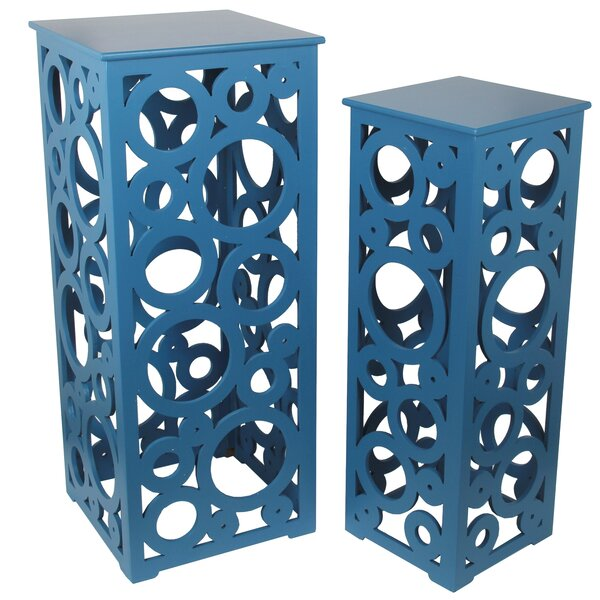 Adam 2 Piece Cut Out Nesting Tables By Latitude Run