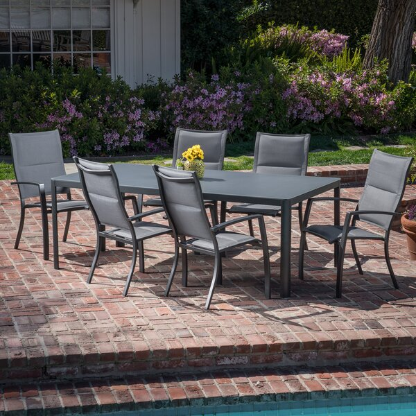 Bayviewpark 7 Piece Dining Set by Latitude Run
