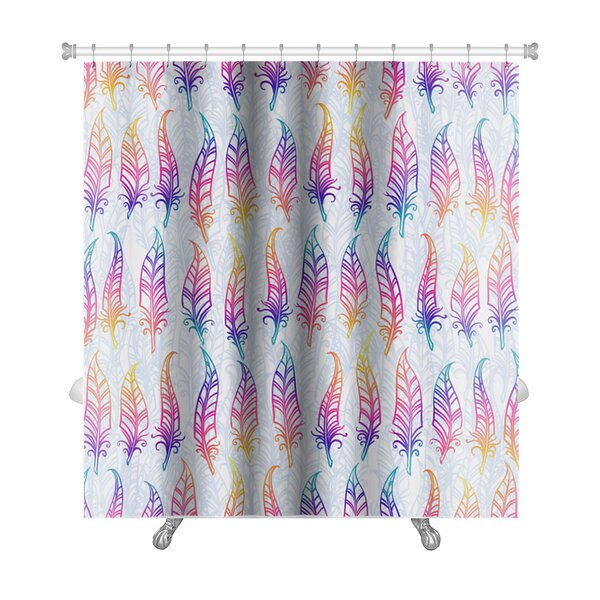Primo Feather Premium Shower Curtain by Gear New