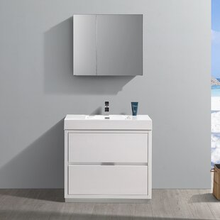 Senza Valencia 36 Single Bathroom Vanity Set ByFresca
