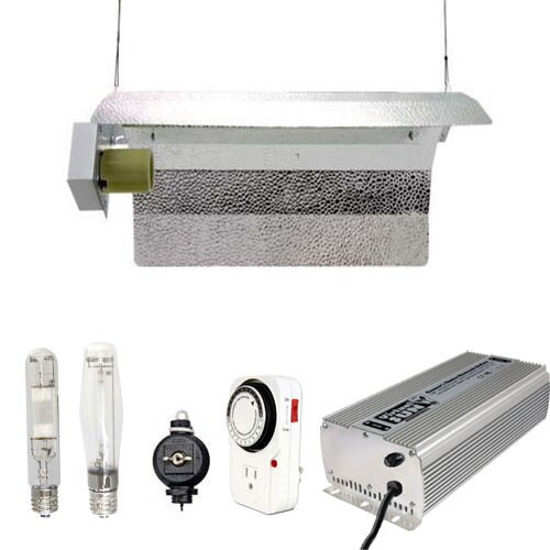 400 Watt HPS MH Grow Light Winged Reflector Hood Digital Kit by Virtual Sun