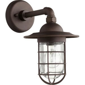 Bowery 1-Light Armed Sconce