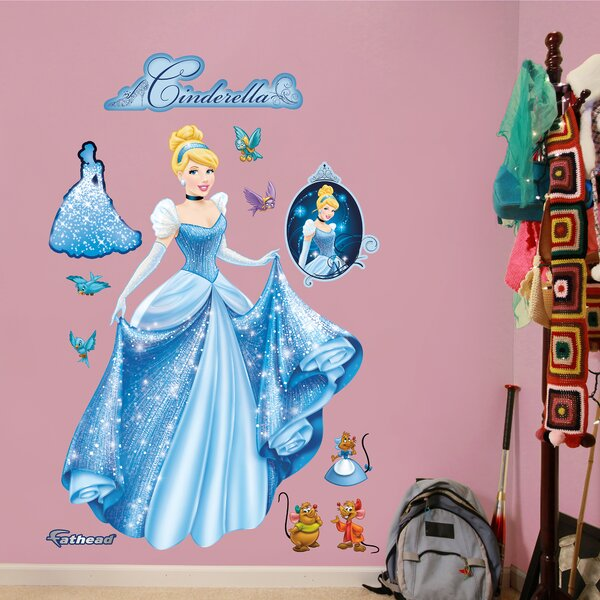 Disney Cinderella From Rags to Riches Wall Decal by Fathead