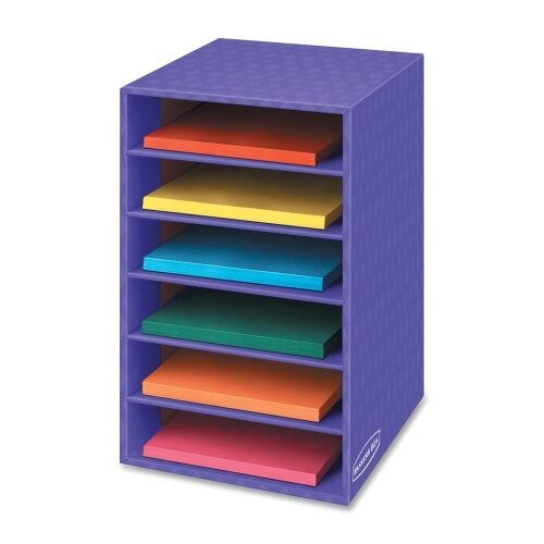 Bankers Box 6 Compartment Shelving Unit by Fellowes Mfg. Co.