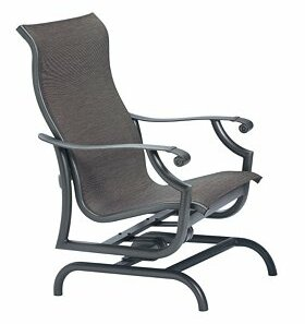 Montreux Sling Action Patio Chair by Tropitone