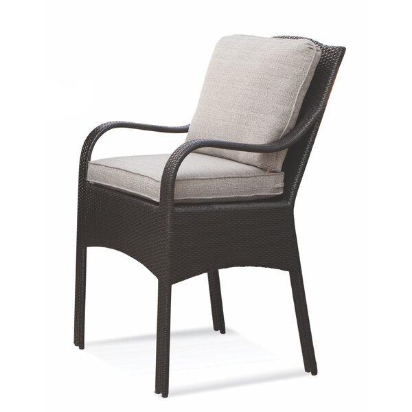 Brighton Pointe Patio Dining Chair with Cushion by Braxton Culler
