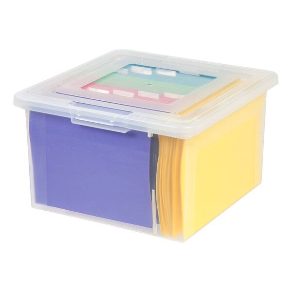 Store-It -All Letter and Legal Size File Box by IRIS USA, Inc.