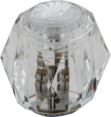 Classic Clear Knob Handles (Set of 2) by Delta
