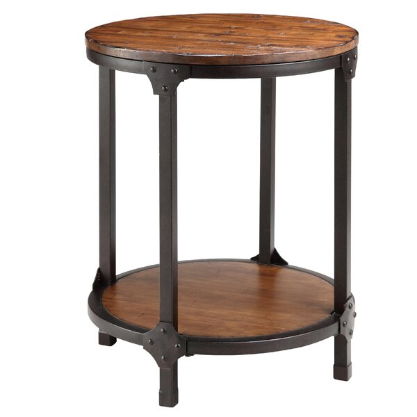 Pakswith End Table by Williston Forge
