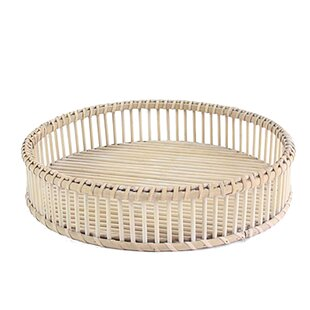 Bail Rattan Accent Tray