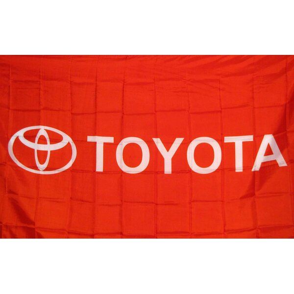 Toyota Polyester 3 x 5 ft. Flag by NeoPlex