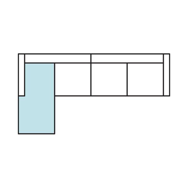 Alannah Reversible Sleeper Sectional By Zipcode Design
