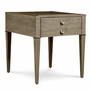 Best Reviews Albright Drawer End Table By Everly Quinn
