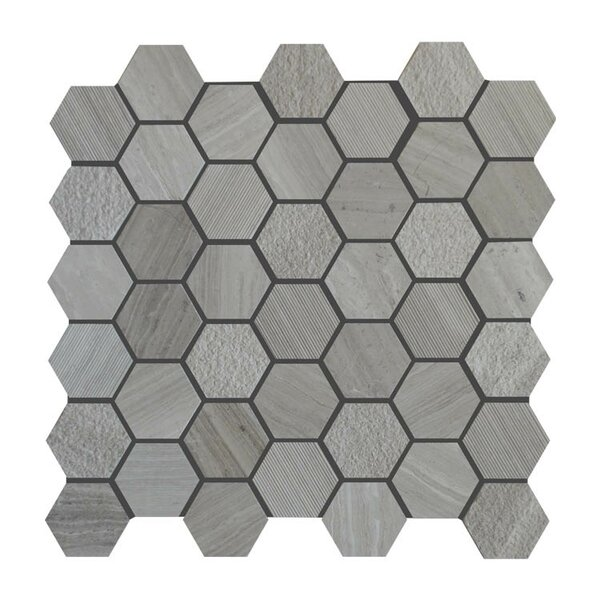 Various Natural Stone Mosaic Tile in Gray by QDI Surfaces