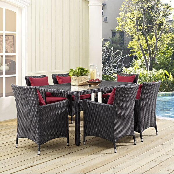 Khadar 7 Piece Dining Set by Latitude Run