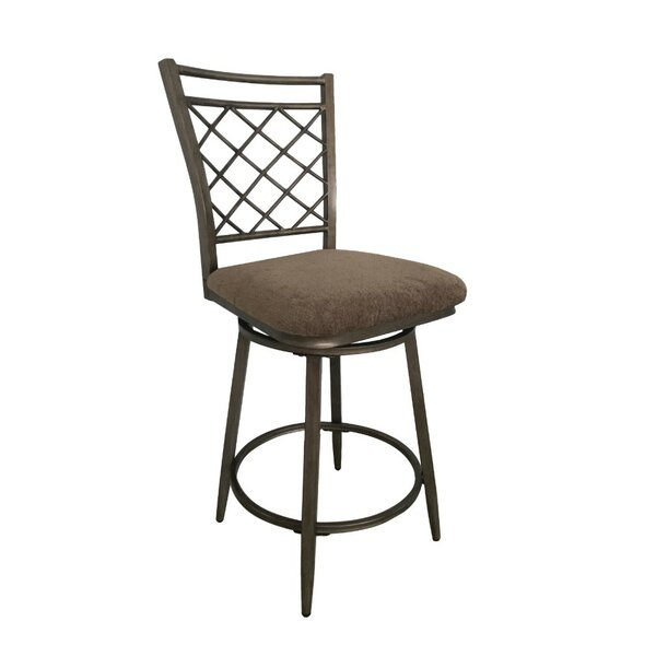 Crumrine Swivel Bar Stool (Set of 2) by Fleur De Lis Living