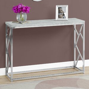 Cyrano Metal Console Table by Latitude Run