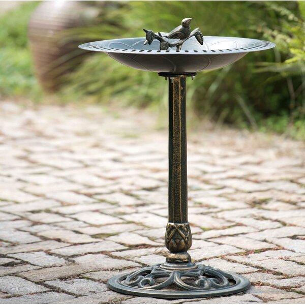 Artois Cast Birdbath by Sunjoy