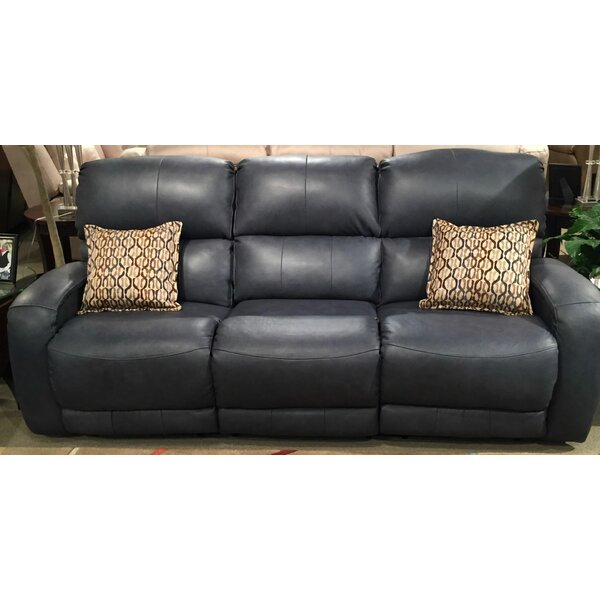 Valuable Shop Fandango Leather Reclining Sofa by Southern Motion by Southern Motion