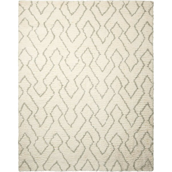 North Moore Hand-Tufted Ivory/Sage Area Rug by Brayden Studio