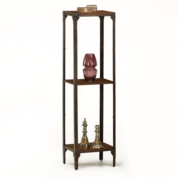 Accent Tower Etagere Bookcase by 17 Stories
