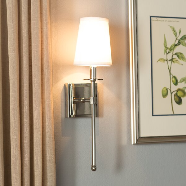 Cooperstown 1-Light Wallchiere by Three Posts
