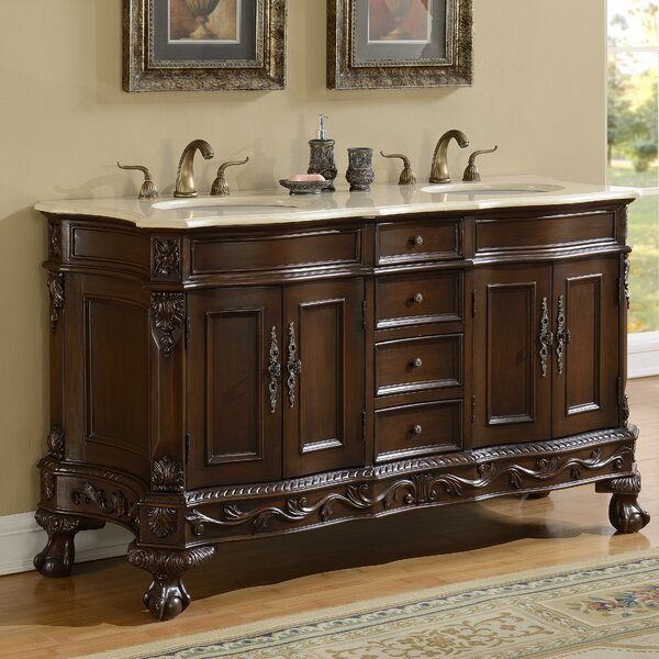 Chelsea 60 Double Bathroom Vanity by Durian, Inc.