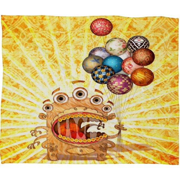 Jose Luis Guerrero Throw Blanket by Deny Designs