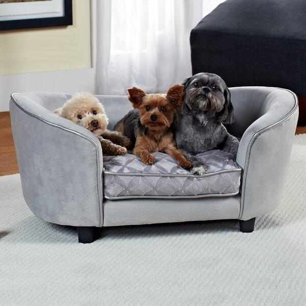 Constantine Quicksilver Dog Sofa by Archie & Oscar