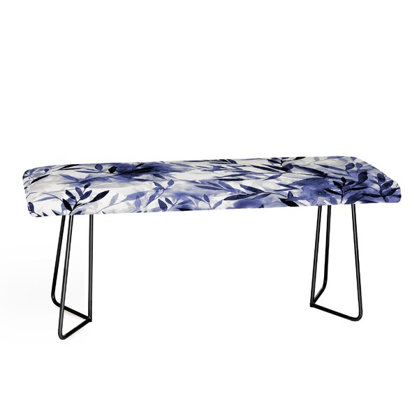 Jacqueline Maldonado Faux Leather Bench by East Urban Home