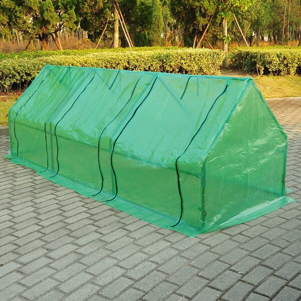 9 Ft. W x 3 Ft. D Mini Greenhouse by Outsunny