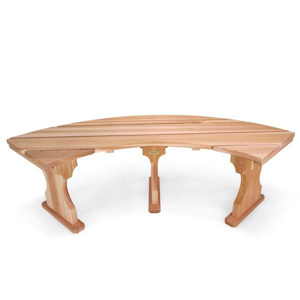 Ardoin Wood Tree Bench by Union Rustic Union Rustic