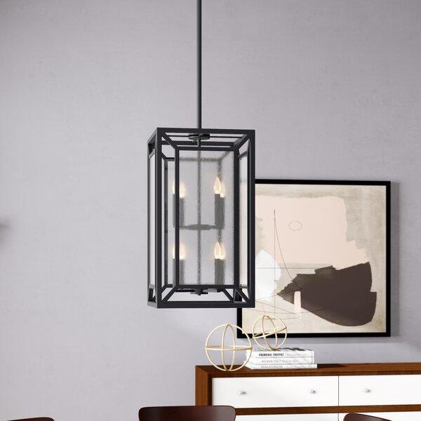 Belkis 8-Light Unique / Statement Rectangle / Square Chandelier by Brayden Studio Brayden Studio