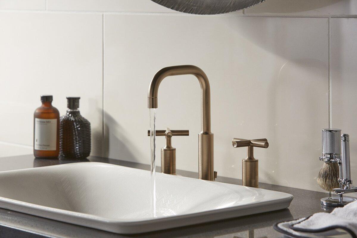 Rectangular Vessel Bathroom Sinks. Sartorial Vitreous China Rectangular Vessel Bathroom Sink
