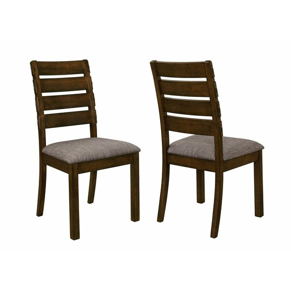 Weintraub Pastoral Sylvan Wooden Dining Chair (Set of 2) by Millwood Pines