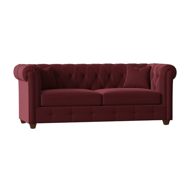 Exellent Quality Keegan Chesterfield Sofa by AllModern Custom Upholstery by AllModern Custom Upholstery