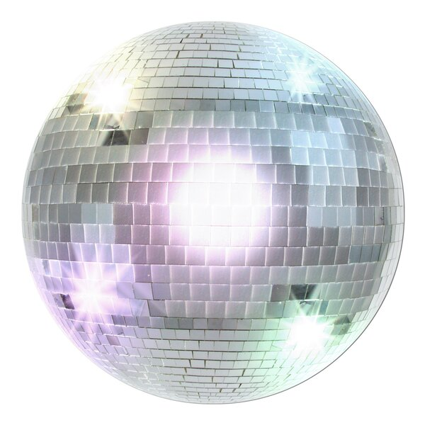 Disco Ball Standup (Set of 3) by The Beistle Company