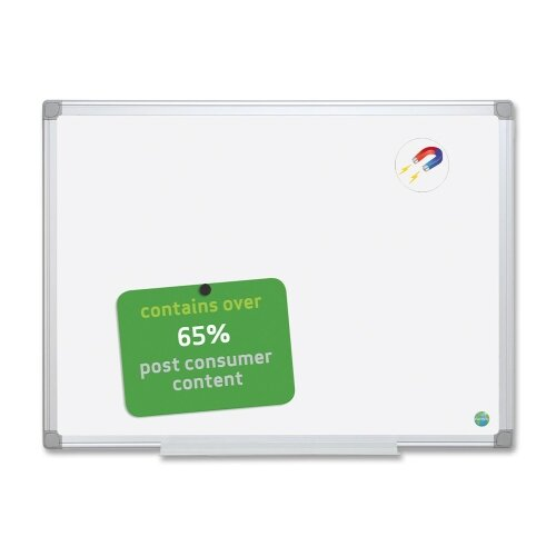 Wall Mounted Whiteboard, 48 x 72 by Bi-silque Visual Communication Product, Inc.