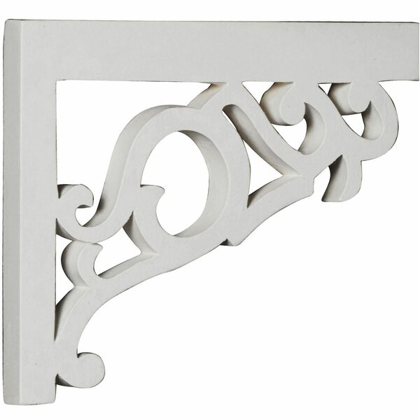 Victorian 7.13 H x 8.75 W x 0.75 D Stair Brackets Right by Ekena Millwork