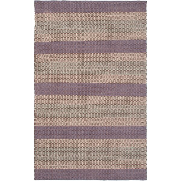 Hand-Woven Plum Area Rug by The Conestoga Trading Co.