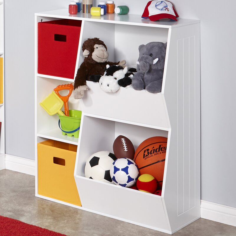 Good 3 Cubby 2 Veggie Bin Toy Organizer