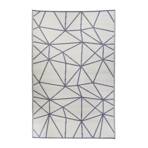 Premier Home Hand-Woven Gray/White Indoor/Outdoor Area Rug
