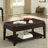 Torre Solid Wood Coffee Table with Storage by Red Barrel Studio®