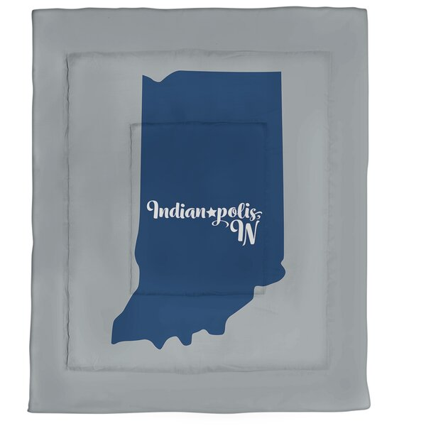 Indianapolis Single Reversible Comforter