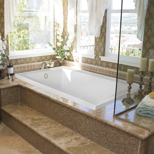 Designer Emma 66 x 42 Whirlpool Bathtub by Hydro Systems