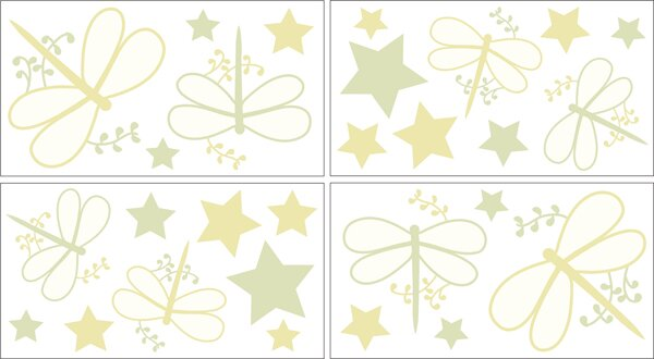 Dragonfly Dreams Wall Decal by Sweet Jojo Designs