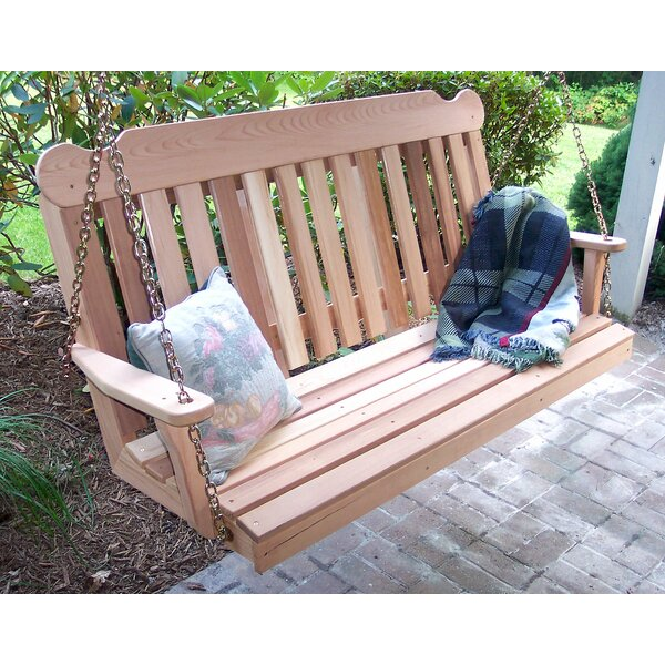 Tignall Porch Swing by Millwood Pines